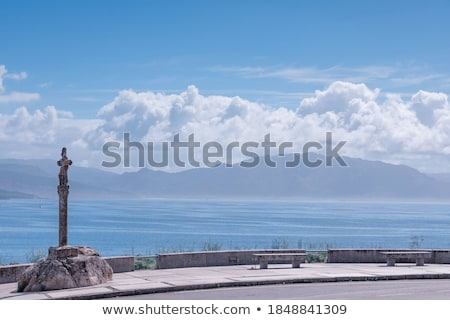 教会 サンティアゴ 方法 ガリチア ストックフォト © lunamarina