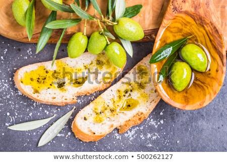 knoflook · klaar · traditioneel · Italiaans · eten · voedsel · achtergrond - stockfoto © grafvision