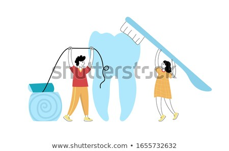 Man Holding Decayed Tooth Stock photo © AndreyPopov