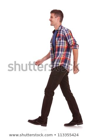 случайный человека ходьбе вперед Сток-фото © feedough