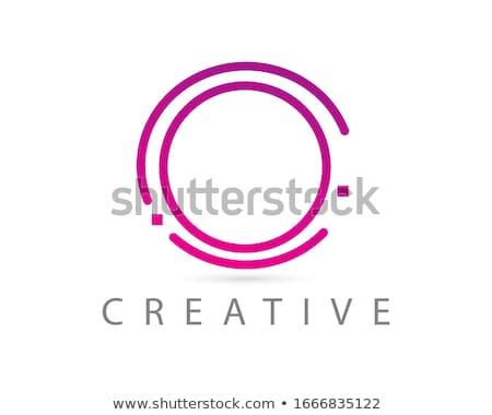 Logotípus levél ikon vektor szimbólum terv Stock fotó © blaskorizov