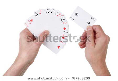 hand dealing cards  Stock photo © inxti