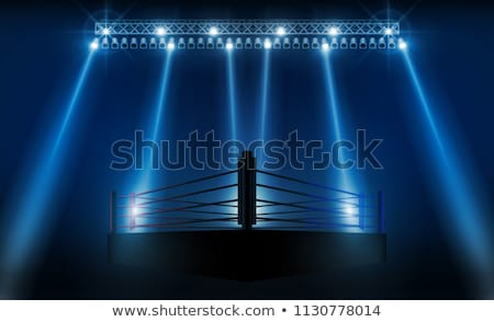 Spotlit Octagonal Stage Stock photo © albund