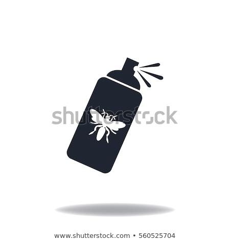 Mosquito spray icon Stock photo © angelp