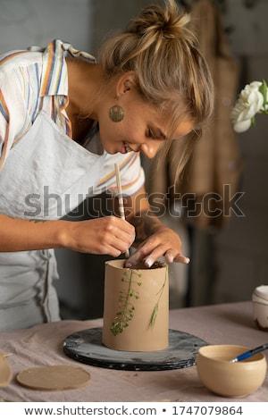 Handtools for making earthenware Stock photo © pressmaster
