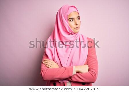 アラブ ヒジャーブ セット 少女 成功 ストックフォト © toyotoyo