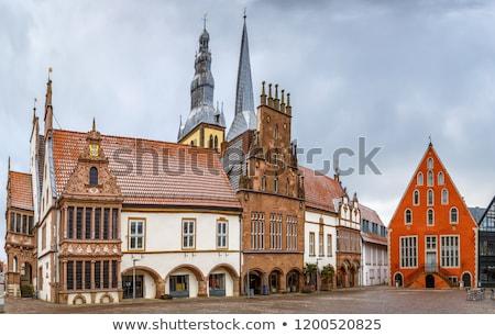 ратуша · Германия · стиль · здании · город · башни - Сток-фото © borisb17