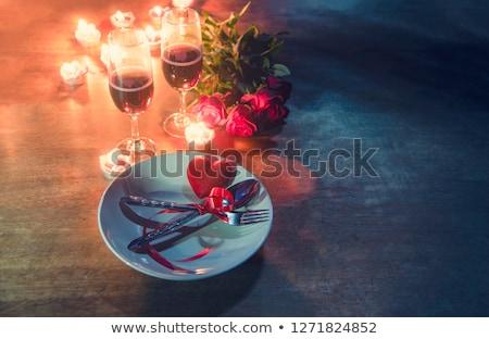 restoran · menü · dizayn · tatlı · vektör - stok fotoğraf © robuart