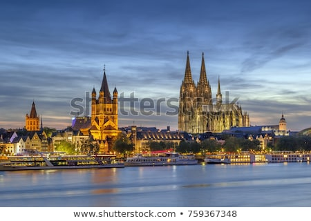 view of historic center of cologne germany stock photo © borisb17