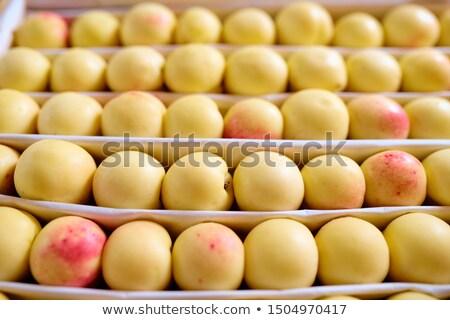 Birkaç taze olgun sarı meyve Stok fotoğraf © pressmaster