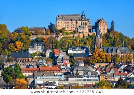 view of Marburg, Germany Stock photo © borisb17