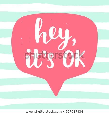 chat · bericht · banner · man · vrouw · communiceren - stockfoto © foxysgraphic