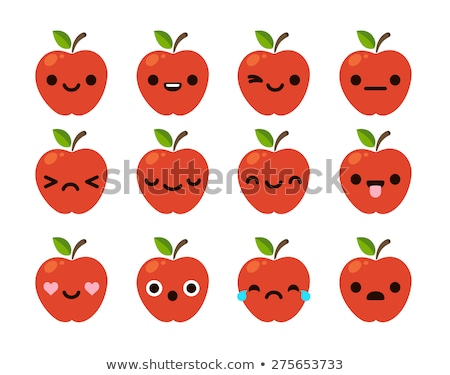 12 differences funny fruit smile stock photo © olena