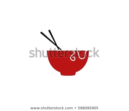 шаблон · суши · палочки · для · еды · иллюстрация · рыбы · искусства - Сток-фото © robuart