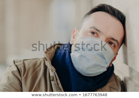 Pessoas adulto homem coronavírus Foto stock © vkstudio