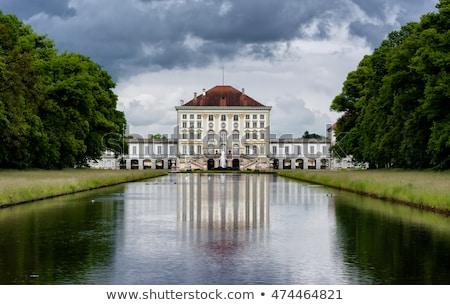 Palacio Munich Alemania vista cielo azul Foto stock © boggy