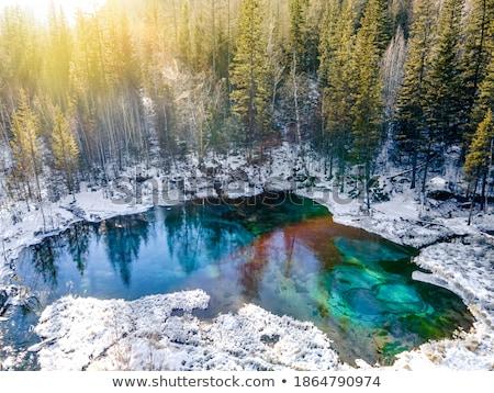 凍結 間欠泉 水 白 冷たい スプレー ストックフォト © FOKA