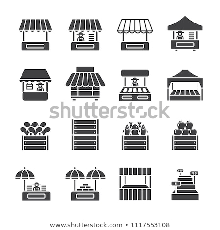 fish market stall stock photo © rognar