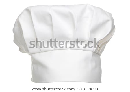 chefs hat traditionally called a toque blanche Stock photo © m_pavlov