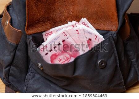 dollár · bankjegyek · luxus · kézitáska · részlet · pénz · divat - stock fotó © illustrart
