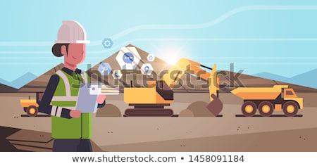 Digging Machine Working Stock photo © fouroaks