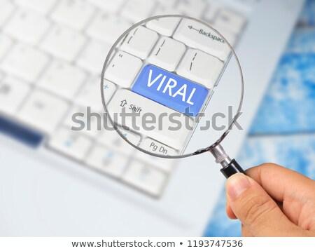 Vızıltı sözler odak ağ Internet kelime Stok fotoğraf © kbfmedia
