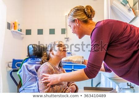 persoon · rolstoel · witte · man · arts · gezondheid - stockfoto © photography33