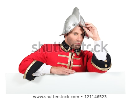 Character dressed in conquistador Stock photo © photography33