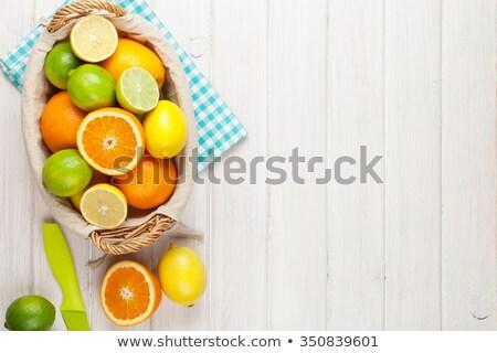 オレンジジュース · 白 · 食品 · 自然 · フルーツ · 朝食 - ストックフォト © ozaiachin