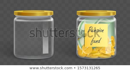 euro banknotes in money jar Stock photo © illustrart