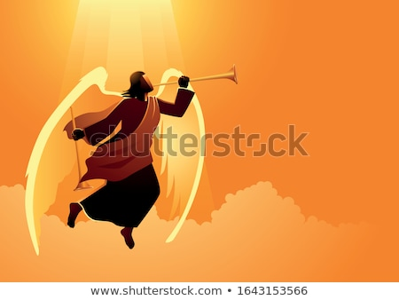 angel of doom Stock photo © dolgachov