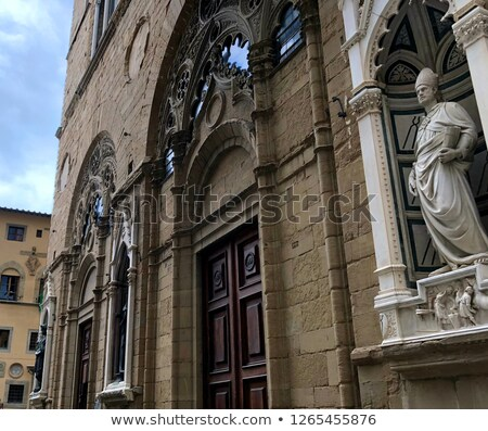 Florence - Orsanmichele Stock photo © wjarek