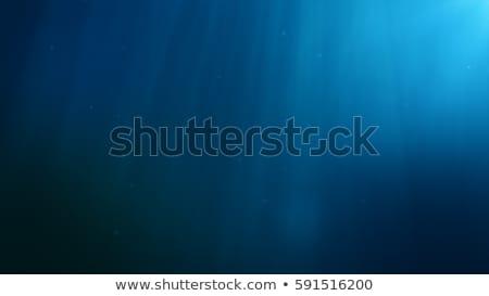 藍色 深 水 泡沫 現場 光 商業照片 © ajlber