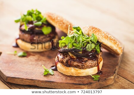 Brown Bun Background stock photo © zhekos