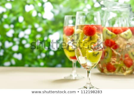 Kiwi Melon white Sangria Stock photo © 3523studio