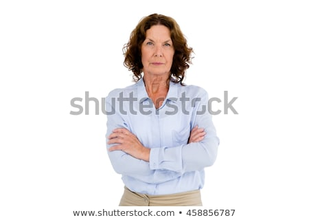 Stern woman Stock photo © photography33
