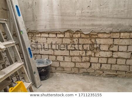 escada · rachar · teto · fundo · sombra - foto stock © dengess