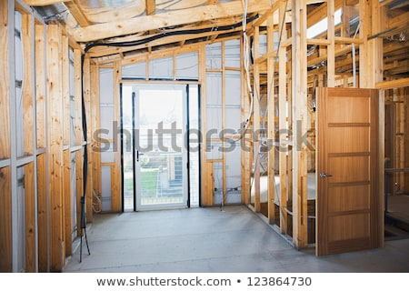 Home Remodel - Insulated Walls Stock photo © lisafx