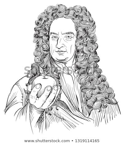 ベクトル · 漫画 · リンゴ · 科学 · 歴史 · 科学 - ストックフォト © pcanzo