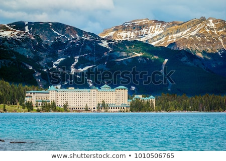 Winter Fairmont Chateau stock photo © michelloiselle