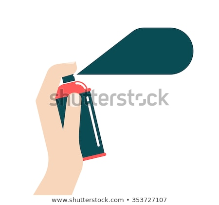 Man holding paint sprayer Stock photo © photography33
