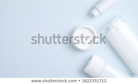 fehér · sampon · üveg · vektor · üres · valósághű - stock fotó © hfng