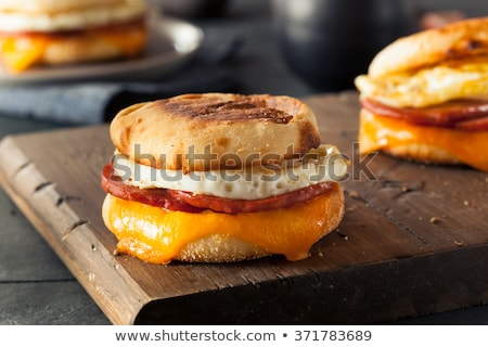 english muffin breakfast stock photo © kitch