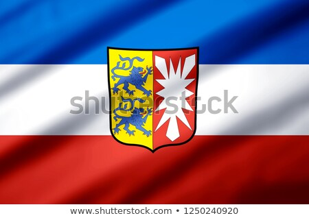 Flag of Schleswig-Holstein stock photo © Ustofre9