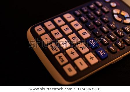 Calculadora exibir números um oito Foto stock © wavebreak_media