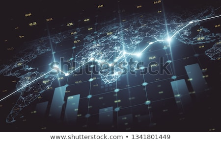 Global inversiones internacional financiar negocios símbolo Foto stock © Lightsource