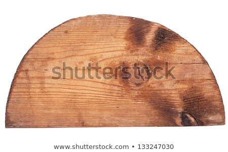 Wooden semicircle Stock photo © Coffeechocolates
