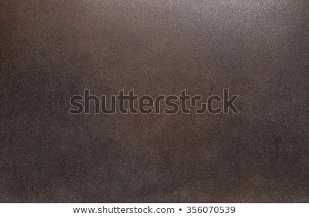 Manchado superficie de metal negro textura wallpaper Foto stock © ElinaManninen