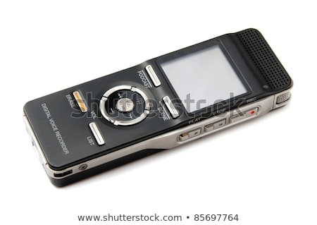 Digitale spreker sleutels spelen media audio Stockfoto © Roka