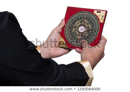 Chinese Feng Shui compass Stock photo © filipw